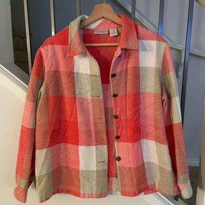 Carol Reed Plaid Button Up Flannel